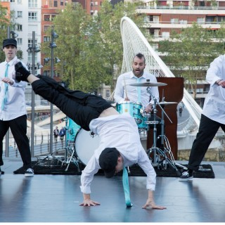 BILBAO ART DISTRICT- actuación break dance