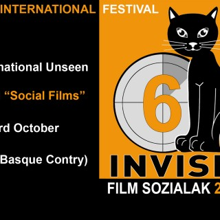 INTERNATIONAL UNSEEN FILM FESTIVAL - banner 6º edición
